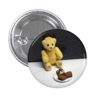 Teddy Bear's Treats 3 Cm Round Badge