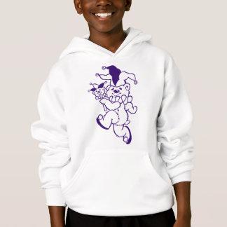 Teddy Jester Purple Ink