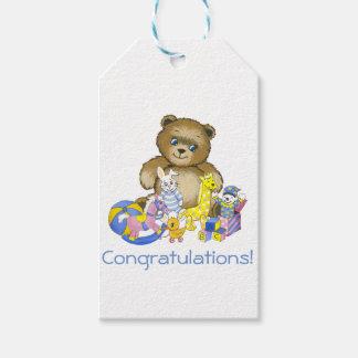 Teddy n' Toys Gift Tags