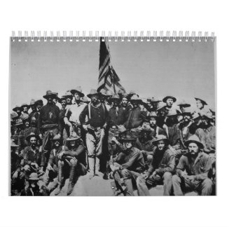 Teddy's Colts Teddy Roosevelt Rough Riders 1898 Calendars