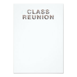 TEE 45th Class Reunion Card