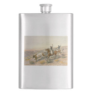TEE Cattle Drive Hip Flask
