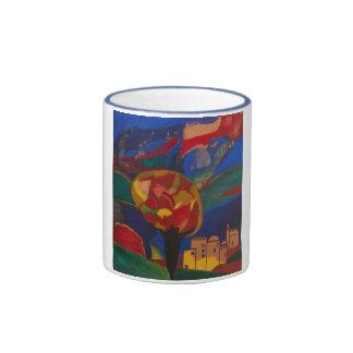Tee & Coffee Cup Ringer Mug