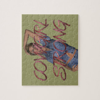 TEE Cowgirl Strong Jigsaw Puzzle