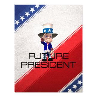 TEE Future President 21.5 Cm X 28 Cm Flyer