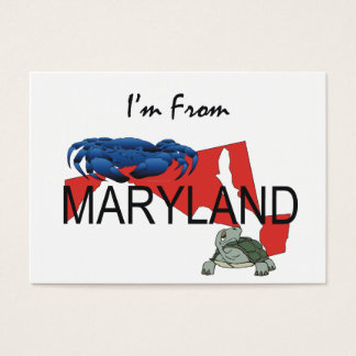 TEE I'm From Maryland Business Card