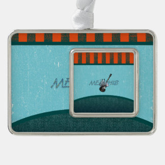 TEE Memphis Silver Plated Framed Ornament