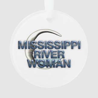 TEE Mississippi River Woman Ornament