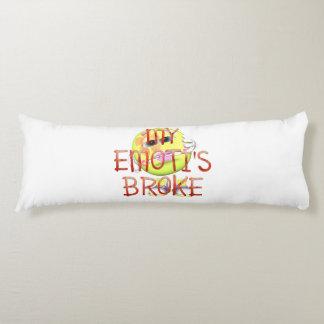 TEE My Emoti's Broke Body Cushion