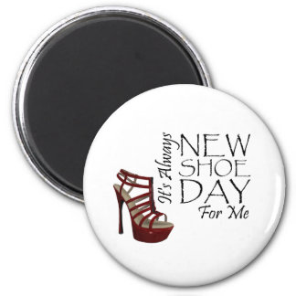 TEE New Shoe Day 6 Cm Round Magnet