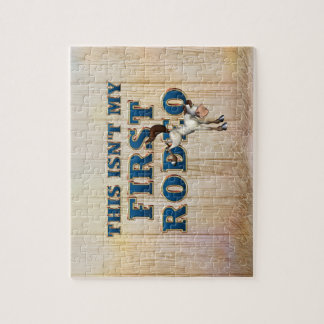 TEE Not My First Rodeo Jigsaw Puzzle