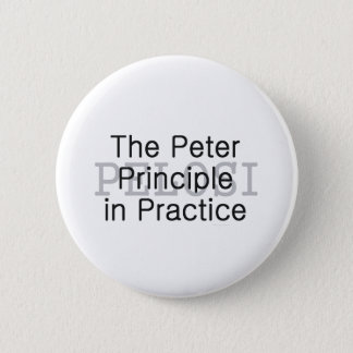 TEE Pelosi Slogan 6 Cm Round Badge