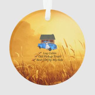 TEE Pickup Slogan Ornament