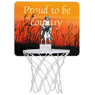 TEE Proud to be Country Mini Basketball Hoop