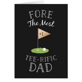 Tee-rific Father's Day Greeting Card