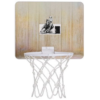 TEE Rodeo Cowgirl Mini Basketball Hoop