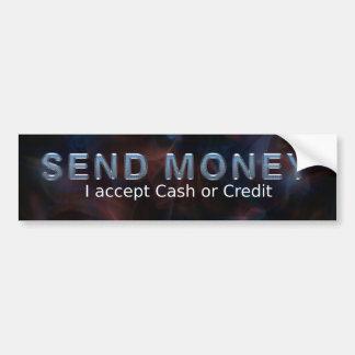 TEE Send Money Bumper Sticker