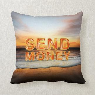 TEE Send Money Cushion