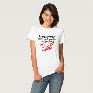 tee-shirt footeux cuckolds t-shirt