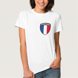 Tee-shirt Woman Fireman of France Shirts