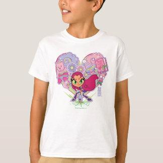 Teen Titans Go! | Starfire's Heart Punch Graphic T-Shirt