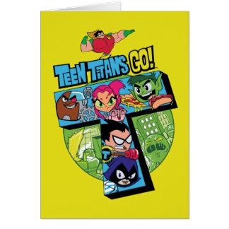 Teen Titans Go! | Titans Tower Collage Card