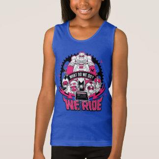 "Teen Titans Go! | ""We Ride"" Retro Moto Graphic Singlet"