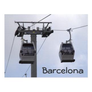 Telefèric de Montjuïc, Barcelona Postcard