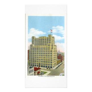 Telephone Building, Denver, Colorado Photo Greeting Card