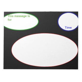Telephone Message Pad