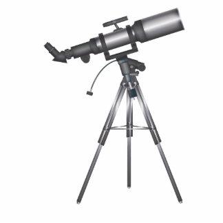 Telescope Standing Photo Sculpture