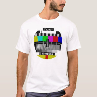 Television - Tv stand by test card T-Shirt
