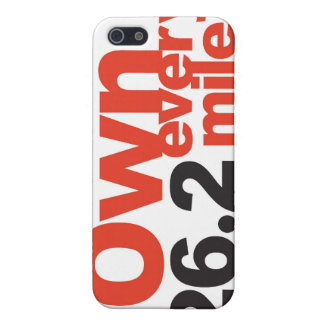 Tell everyone your a marathon runner! case for iPhone 5/5S