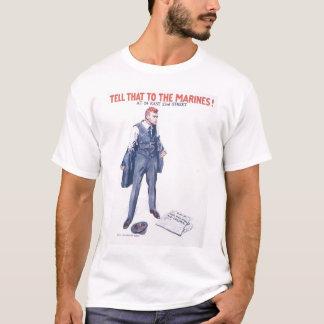 Tell Marines World War II T-Shirt