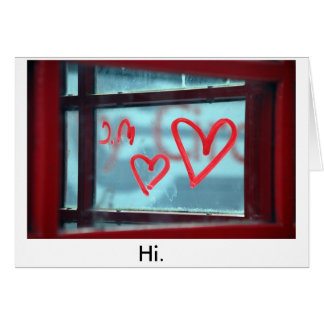 Tell someone.... greeting card