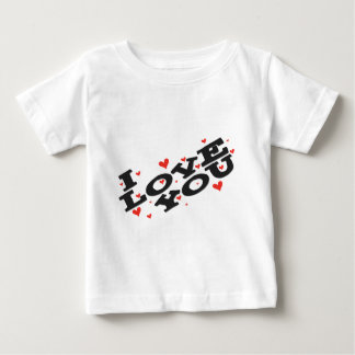 Tell someone you love them - Customisable Baby T-Shirt