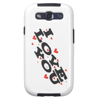 Tell someone you love them - Customisable Galaxy SIII Case