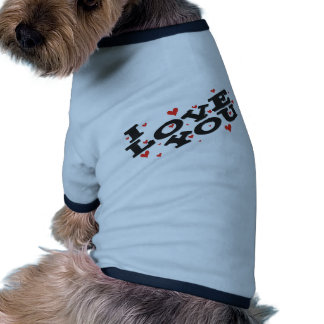 Tell someone you love them - Customisable Dog T-shirt
