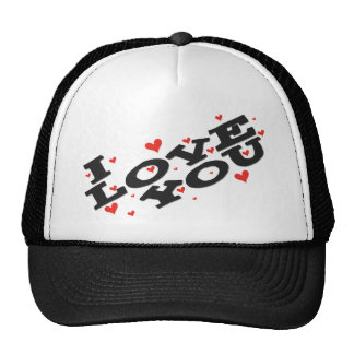 Tell someone you love them - Customisable Trucker Hats