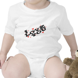 Tell someone you love them - Customisable Baby Creeper