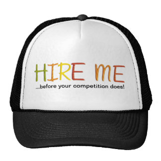 Tell the Business World You Love Work Trucker Hats
