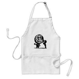 Tell the World Standard Apron