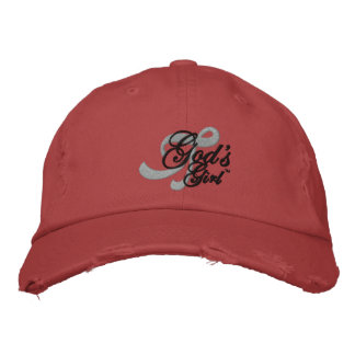 Tell the world that you're God's Girl! Embroidered Cap
