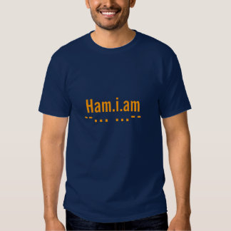 Tell the world you are a Ham Radio Operator! Tee Shirt