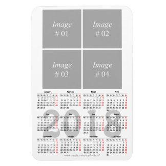 template 2018 calendar Premium Magnet