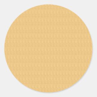 Template DIY Golden Crystal Texture + TXT IMAGE Round Sticker