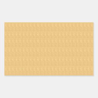 Template DIY Golden Crystal Texture + TXT IMAGE Rectangular Stickers