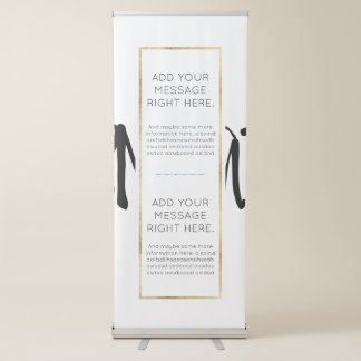 Template Retractable Banner