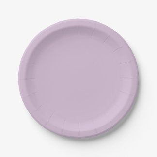 Template Thistle Paper Plate