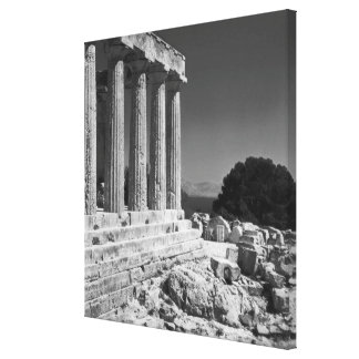 Temple of Aphaea Canvas Print